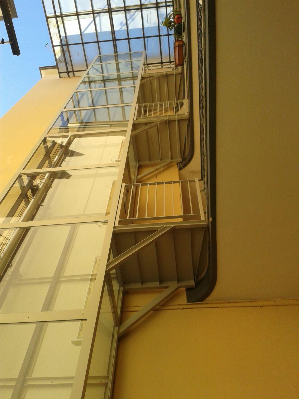 Torre Ascensore Condominiale Esterno