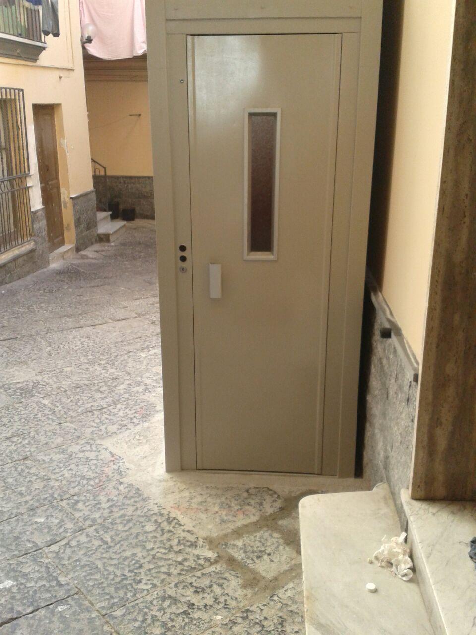 Porta Ascensore Condominiale Esterno