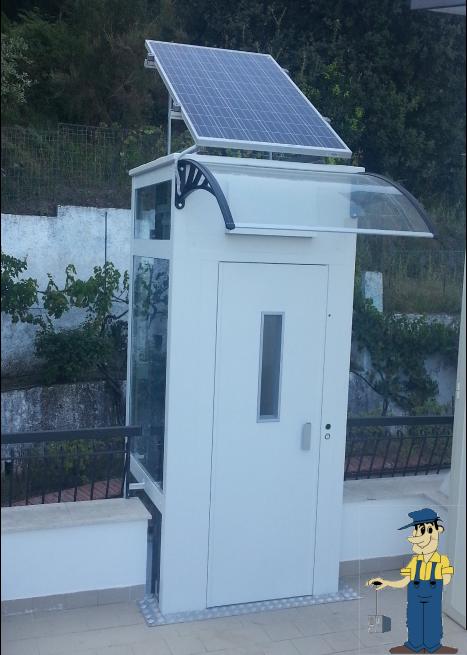 Novità: Ecco gli ascensori ecologici